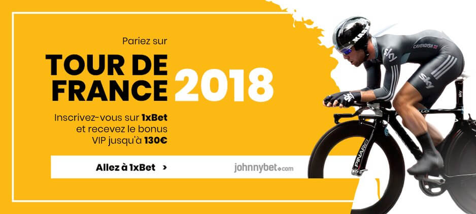 Parier sur Tour de France 2018