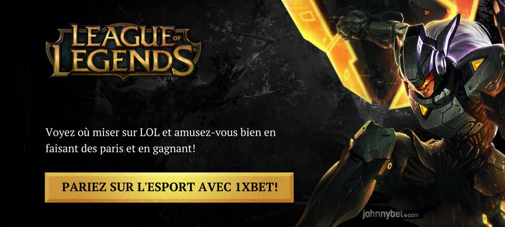 Parier sur League of Legends