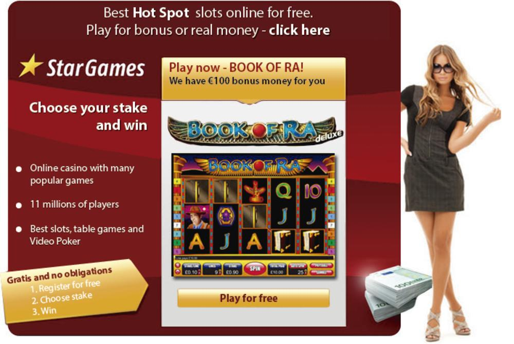 stargames online casino slot book of ra free