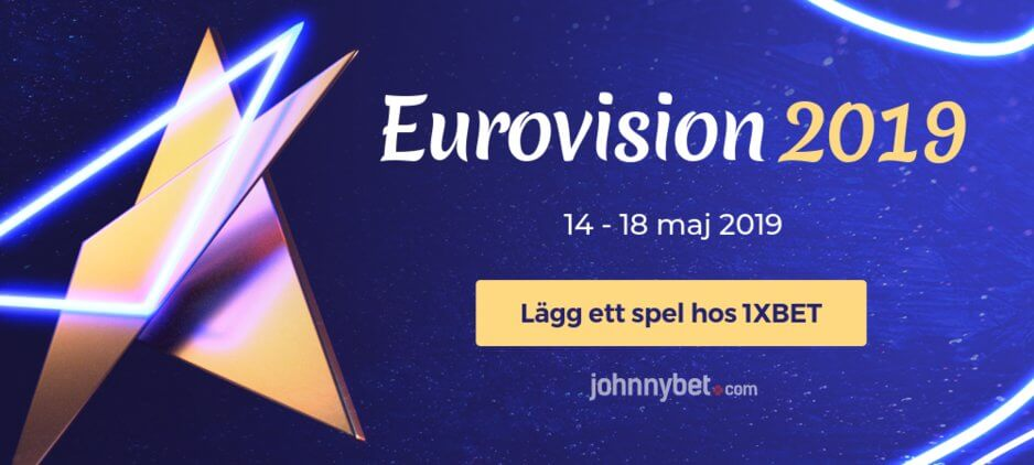 Eurovision betting odds 1xbet
