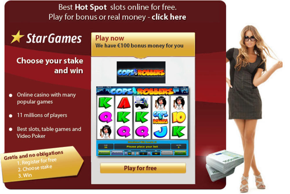 free online mobile casino cops and robbers slot