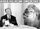 Alfred hitchcock and lion memes