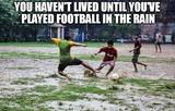 Football in the rain memes
