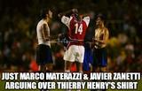 Thierry henry shirt memes