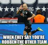 Robben the other team memes