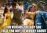 Beauty and the beast funny memes