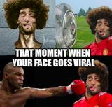 Your face goes viral memes