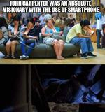 Use of smartphone memes
