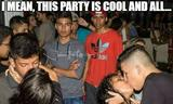 This party is cool memes