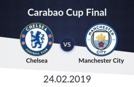 Image result for carabao cup final 2019