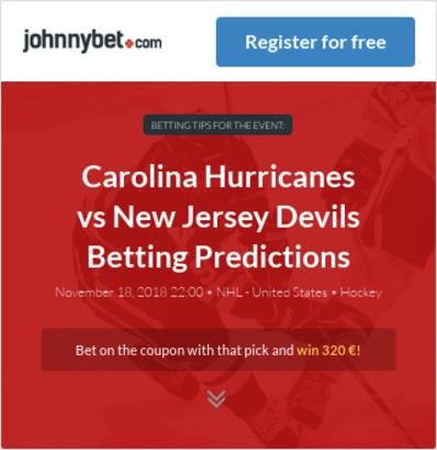 Carolina Hurricanes vs New Jersey Devils Betting Predictions 18b3a1826