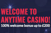 Anytime Casino promotion code 2017