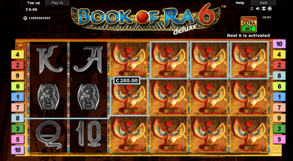 Book Of Ra 6™ Slot Machine Game to Play Free in Novomatics Online Casinos