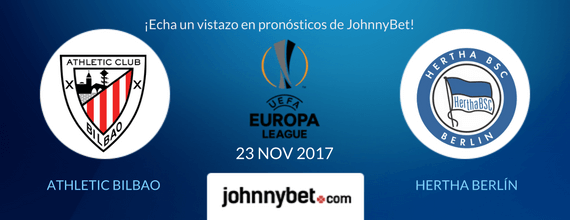 Pronósticos Liga Europa Athletic vs Hertha