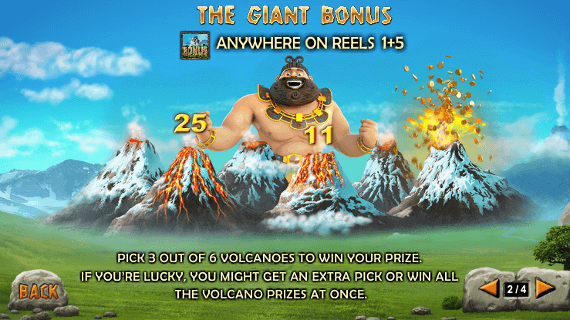 Play Jackpot Giant slot bonus spins