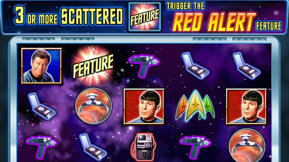 Star Trek slots gameplay online free