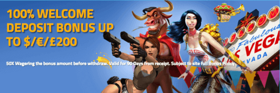 Bongo Slots Casino Welcome promotion