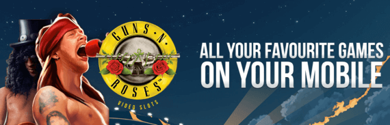 Mr Star Casino Slot Machine Game Guns and Roses