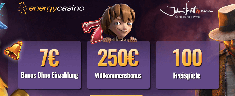 Energy Casino VIP Bonus