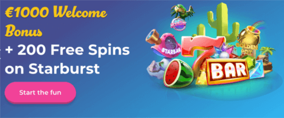 Casino Joy welcome bonus codes
