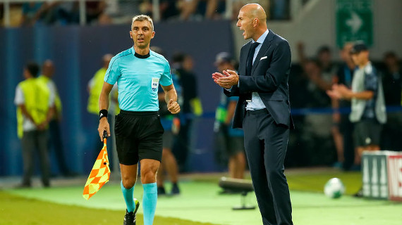 Zidane entrenador Real Madrid