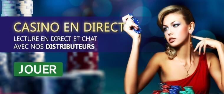 Casino en direct sur Ohmbet