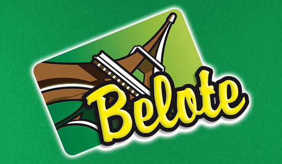 Jeu de cartes Belote sur Game twist