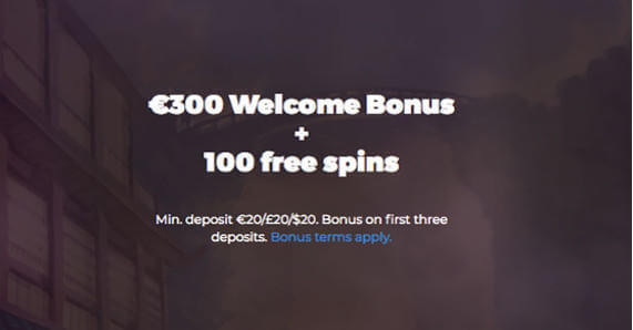 Aha Casino Welcome promotion Free spins