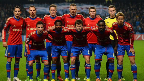 cska moscow team europa league match
