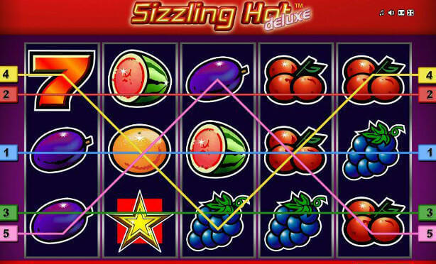 Sizzling Hot Slot for real money deluxe online casino game