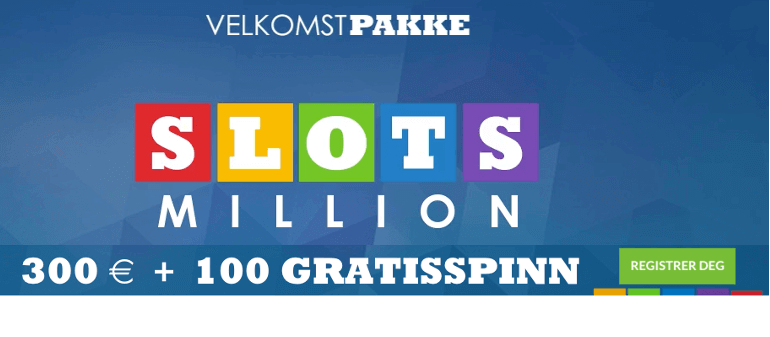 million slots casino spill online