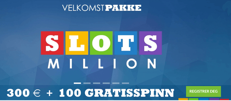 spillemaskiner online på slots million casino