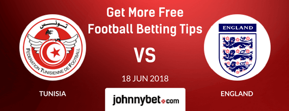 tunisia vs england betting predictions