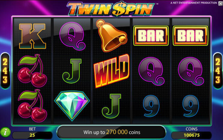 Twin Spins Slot Game Online