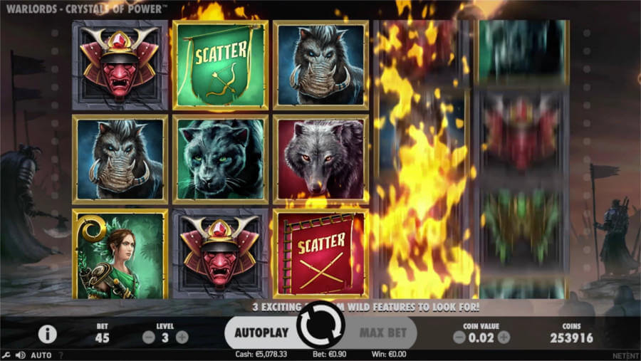 Aha Casino Games Warlords Crystal Of Power