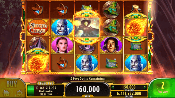 Wizard Of Oz Slots Jackpot