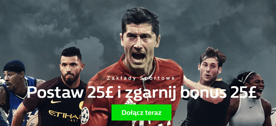 William Hill bonus na zakłady